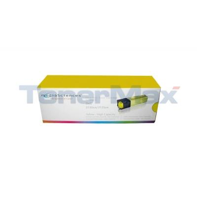 MEDIA SCIENCES TONER CARTRIDGE YELLOW HY FOR DELL 2130N